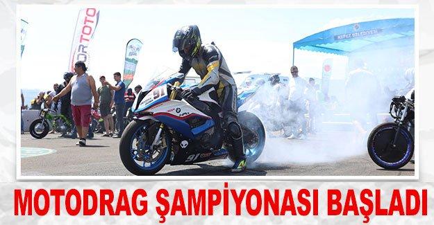 Motodrag Şampiyonası başladı