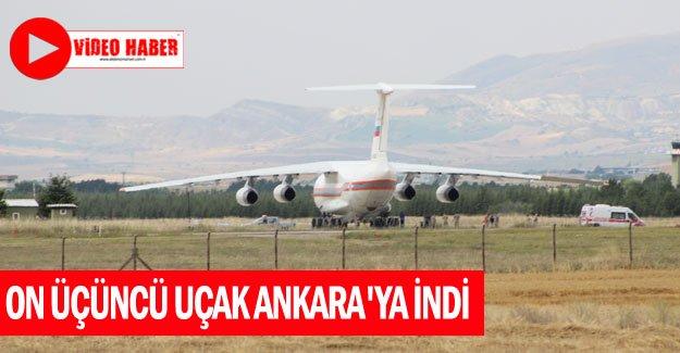 S-400 teslimatında on üçüncü uçak Ankara'ya indi
