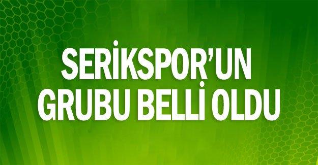 Serikspor'un grubu belli oldu