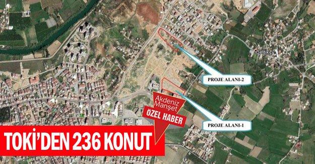 TOKİ'den 236 konut