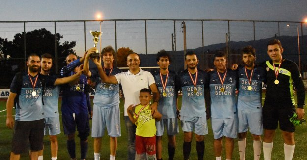Yaz Kupası Demre Betonspor'un