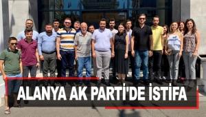 Alanya AK Parti'de istifa