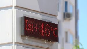 Antalya'da termometre çıldırdı