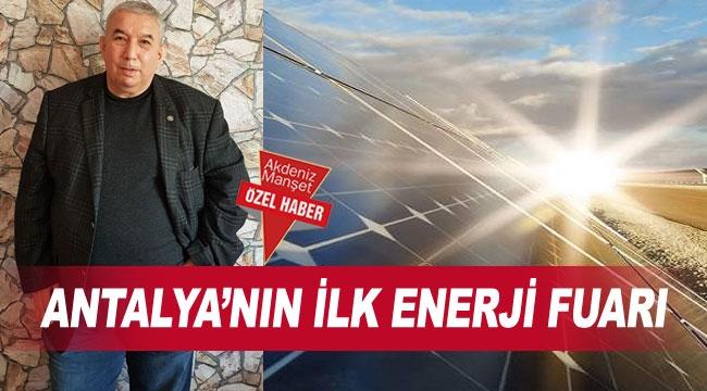 Antalya'nın ilk enerji fuarı