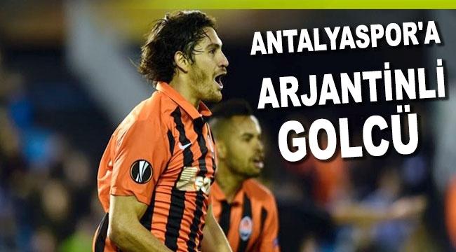 Antalyaspor'a Arjantinli golcü