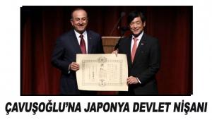 Çavuşoğlu'na Japonya devlet nişanı