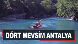 Dört mevsim Antalya