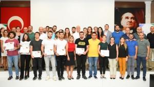 Genç OSD'de sertifika heyecanı