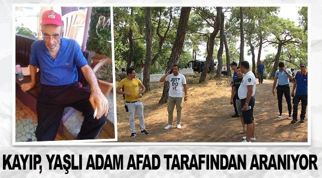 Kayıp, yaşlı adam AFAD tarafından aranıyor