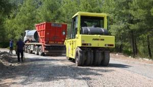Konyaaltı'ndan Doyran'a asfalt