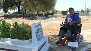 Mezarlıkta engelli düzenlemesi