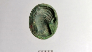 Mısır Kraliçesi yüzük mühürde