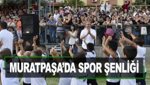 Muratpaşa'da spor şenliği