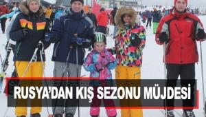 Rusya'dan kış sezonu müjdesi