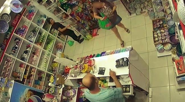 Tırnakçılık yöntemiyle hırsızlık