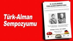 Türk-Alman Sempozyumu