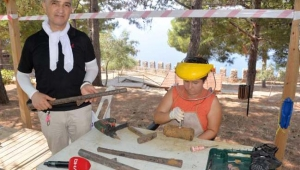 16'ncı yüzyıla ait Osmanlı tüfekleri bulundu