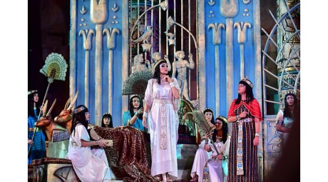 Aida operası Aspendos'ta