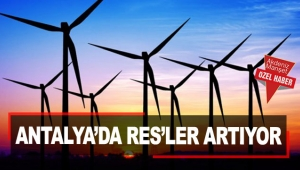 Antalya'da RES'ler artıyor