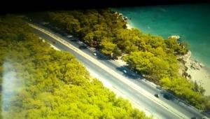 Antalya trafiği drone ile denetlendi