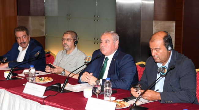 Arap Odalar Birliği ATSO'nun konuğu