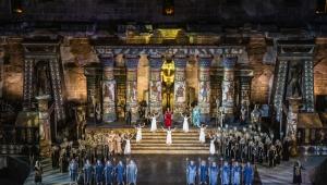 Aspendos'ta 2. kez 'Aida'