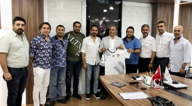 Beşiktaşlılardan anlamlı destek