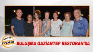 Buluşma Gaziantep Restoran'da