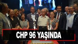 CHP 96 yaşında
