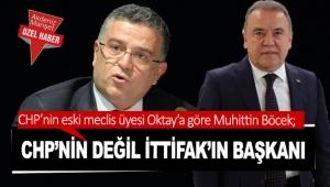 CHP'nin değil İttifak'ın başkanı