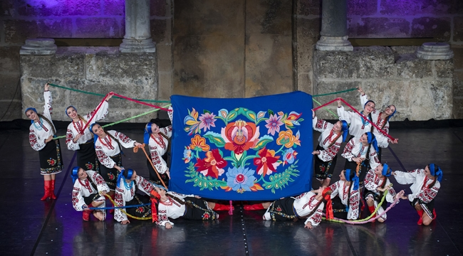 Festivalde dans rüzgarı