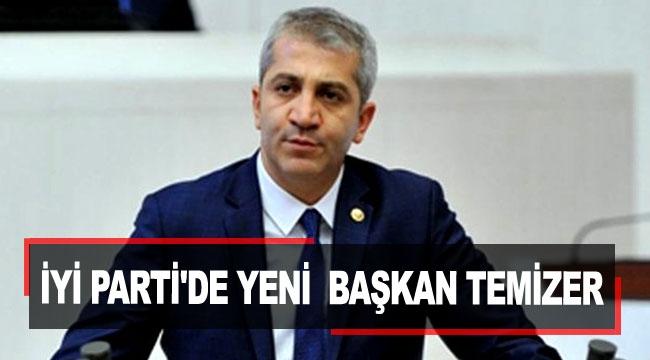 İYİ Parti'de yeni başkan Temizer