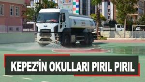Kepez'in okulları pırıl pırıl