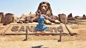 Kum heykellere 'Ortadoğu' dopingi