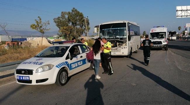 Manavgat'ta kaza: 4'ü turist 6 yaralı