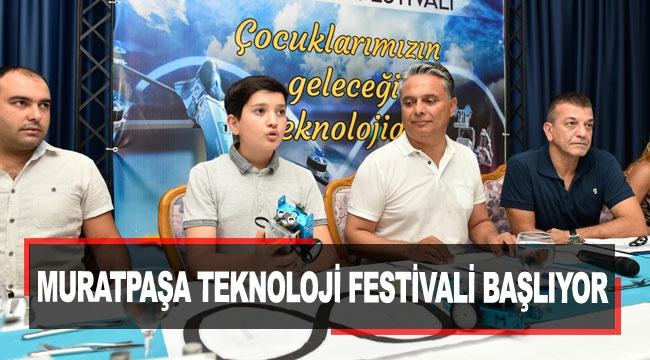 Muratpaşa Teknoloji Festivali başlıyor
