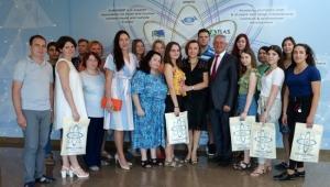 Rus akademisyenlere Antalya'da turizm dersi