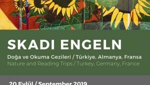 Skadi Engeln'in eserleri AKS Kaleiçi Evi'nde