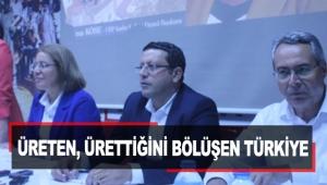 Üreten, ürettiğini bölüşen Türkiye