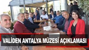 Validen Antalya Müzesi açıklaması
