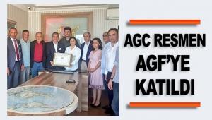 AGC resmen AGF'ye katıldı