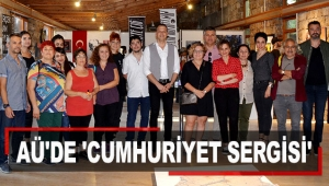 AÜ'de 'Cumhuriyet Sergisi'
