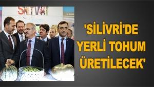 Başkan Yılmaz: İstanbul'u besleyen Silivri yaratmak istiyoruz