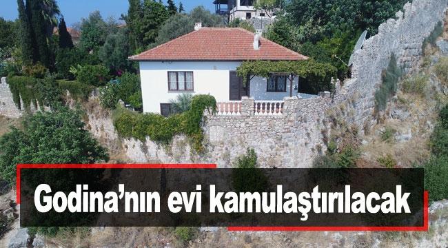 Godina'nın evi kamulaştırılacak