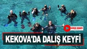 Kekova'da dalış keyfi