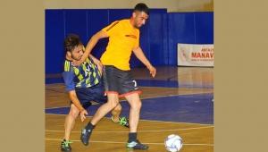 Manavgat'ta futsal heyecanı