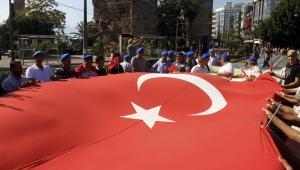 Mavi Bereliler'den Barış Pınarı'na destek