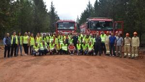 Orman yangınlarıyla 'gönüllü' mücadele