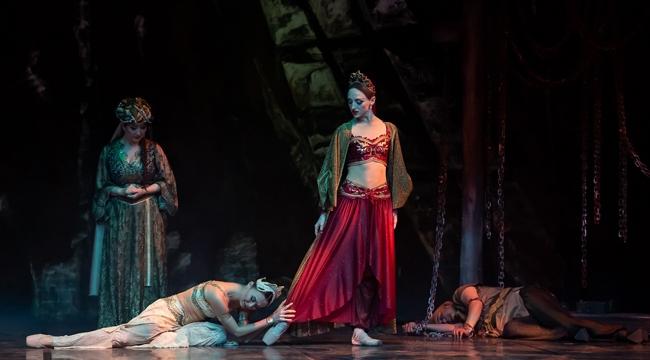 Sezonun ilk bale eseri 'Şehrazat'