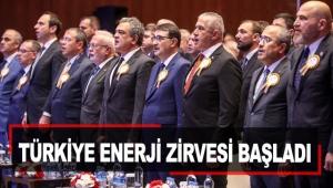 Türkiye Enerji Zirvesi başladı